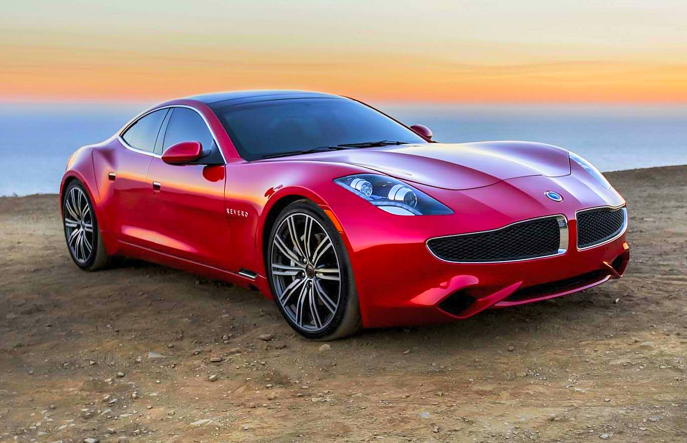 2018 Karma Revero Gasoline Electric Hybrid Car Securely Connected